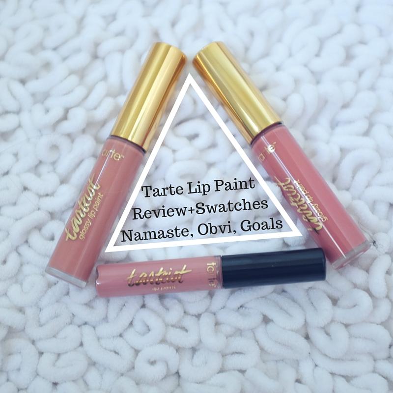 Tarte tarteist lip paint namaste obvi goals swatches for Tarte lip paint namaste